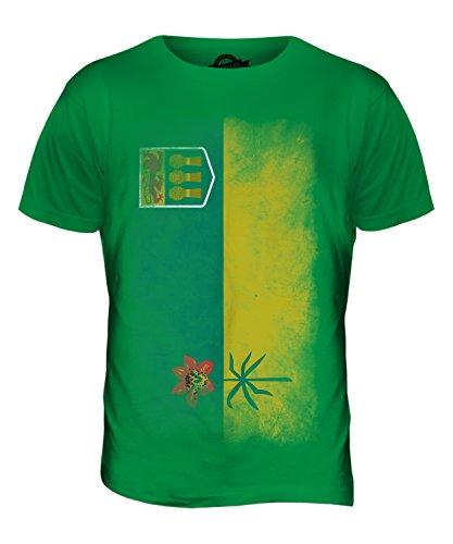 CandyMix Saskatchewan Verblichen Flagge Herren T Shirt Grün
