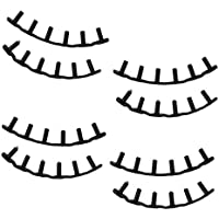 Baoblaze 8 Pcs de Ojales de Raqueta de Bádminton (6 Tubos en Uno) de Plástico, Tamaño 5.6 x 0.8 x 0.4 cm