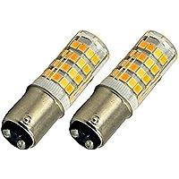 Bonlux BA15d SBC LED Bombilla 220V 4W para Máquina de Coser con Doble Conecto (2