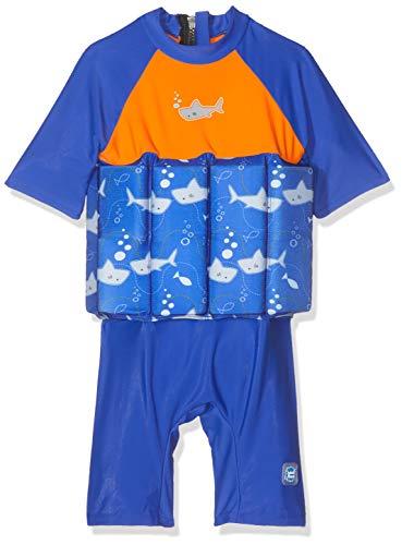Splash About Kinder Uv Float Anzug, Shark Orange, 1-2 Jahre