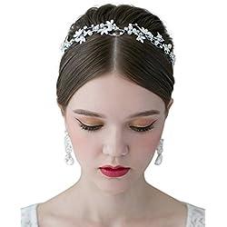Diadema Con Rhinestones Para Novia - Especial bodas