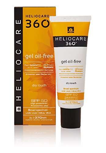 Heliocare 360 Gel Oil Free Dry Touch Face Spf50 50ml