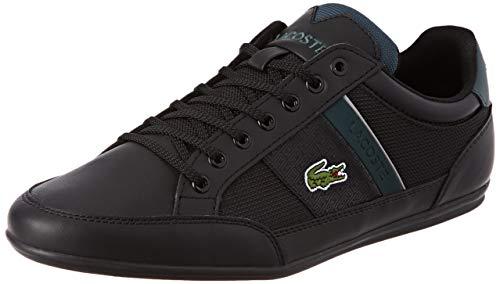 Lacoste Herren Chaymon 319 3 CMA Sneaker, Schwarz (Black/Dark Green 1r6), 46 EU