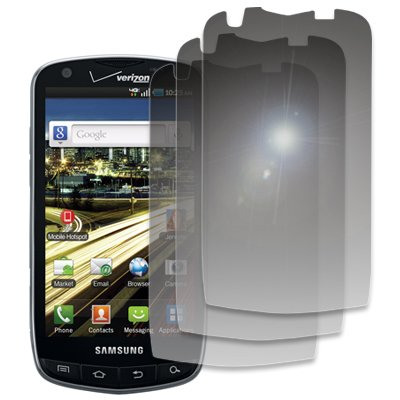 EMPIRE 3 Pack of Mirror Screen Protectors for Verizon Samsung Droid Charge
