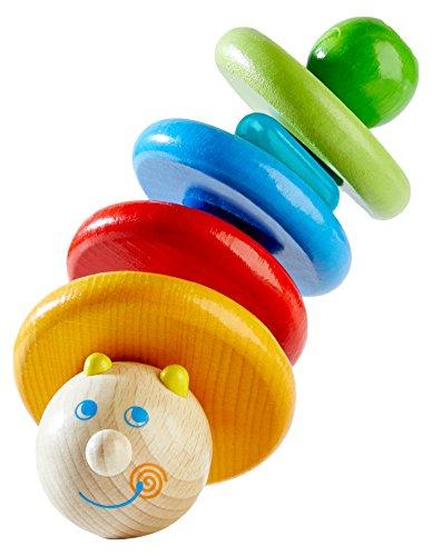 HABA 302142 Greifling Ri-Ra-Raupe, Kleinkindspielzeug