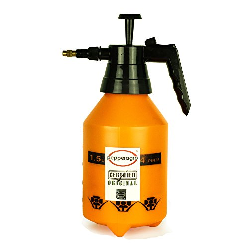 Pepper Agro GSI1001 1.5 Litre Garden Pressure Sprayer (Yellow and Black)