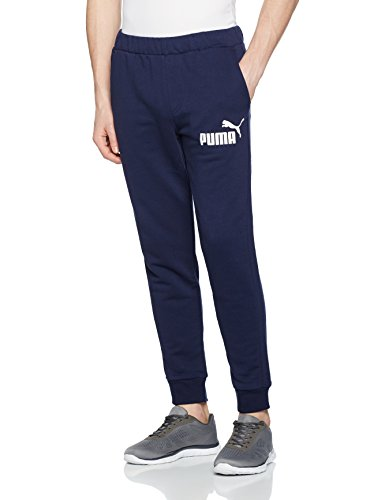 Puma Erwachsene Ess No.1 Sweat Pants, TR, Cl Hose, Peacoat, XXL (Baumwolle Pants Terry Knit)