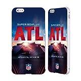 Officiel NFL Stade De Mercedes-Benz Atlanta 2019 Super Bowl LIII Argent Étui Coque...