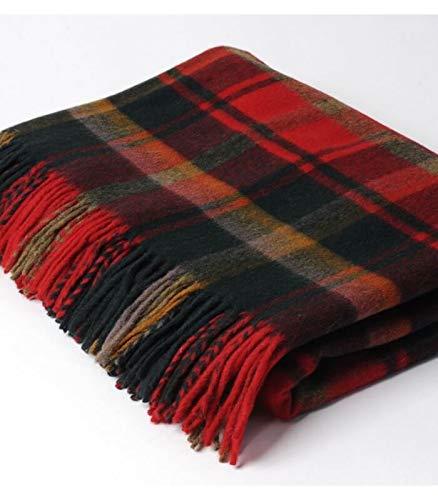 Plaid Écossais Dark Maple