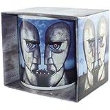 Pink Floyd - Rock Band Tasse Geschenktasse - The Division Bell Metal Heads - toll und stabil verpackt in einer Geschenkbox