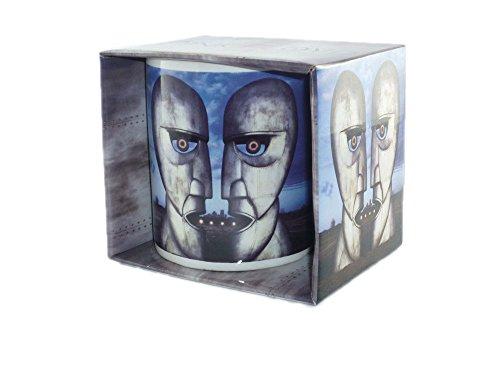 Pink Floyd-Rock Band tazza regalo-The Division Bell Metal Heads-fantastica e resistente in confezione regalo