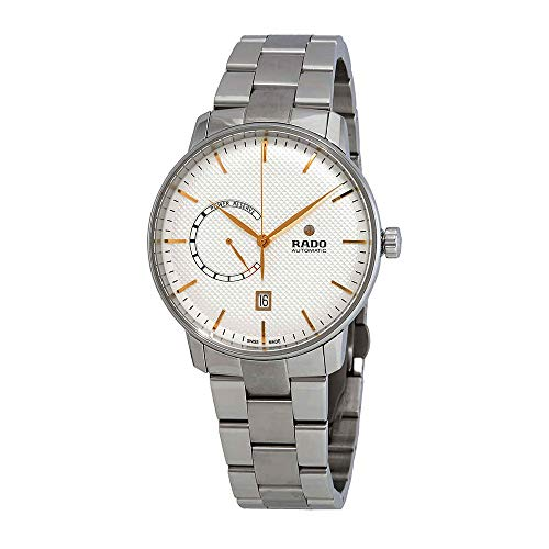 Rado Coupole classico automatico argento quadrante mens orologio R22878023