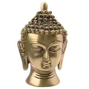 objet de d coration zen statuette dieu bouddha en laiton cuisine maison. Black Bedroom Furniture Sets. Home Design Ideas