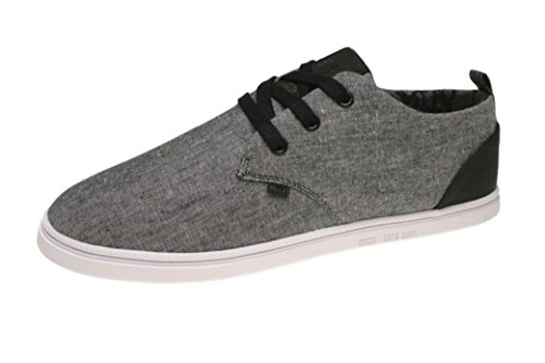 Djinns homme crashed canvas low uAL bleu Noir - Noir