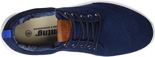 Mtng Attitude 84188, Baskets Bleu Homme (serraje Marino)