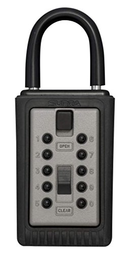 Kidde AccessPoint 001166 KeySafe Original 3-Key Portable, Titanium Gray by GE Security (English Manual) - Elite Manual