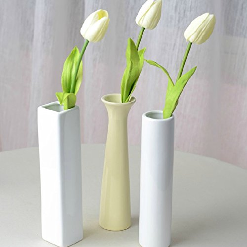 Home Furnishing jewelry ornaments beauty white porcelain vase ceramic vase wedding home decoration accessories vasos decoracao
