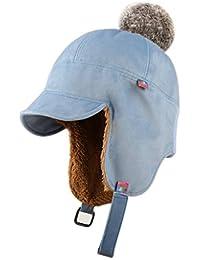 Cappello Femminile Autunno e Inverno Ciclismo Caldo paraorecchie da Sci  Carino Berretto di Cotone Antivento Berretto Invernale Quattro… 8b7e10335ffd