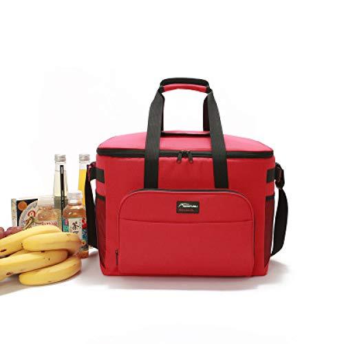 Zaino da viaggio in cotone perlato di alluminio, film, sacchetto di ghiaccio, pranzo, pranzo al sacco 2 40 * 25 * 30cm