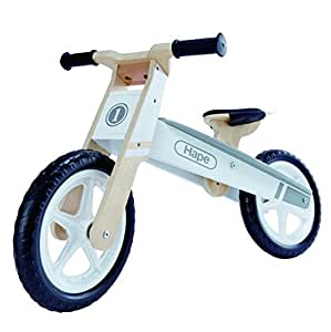 Hape International Wooden Wonder Ride on Toddler Balance Bike (Multicolour)