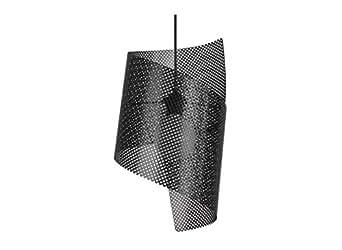 Suspension avec tôle d'acier laqué LACY Noir
