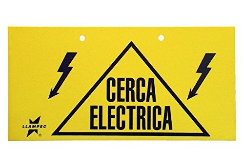 Llampec SEN000001 - Señal cerca eléctrica