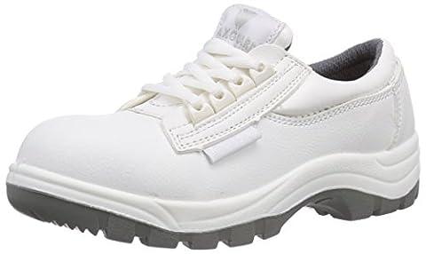 Maxguard W330, Unisex-Erwachsene Sicherheitsschuhe, Weiß (weiß), 39 EU