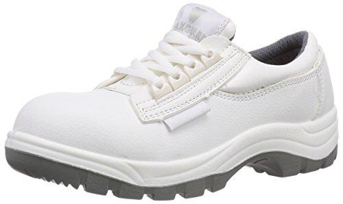 Maxguard W330, Unisex-Erwachsene Sicherheitsschuhe, Weiß (weiß), 47 EU