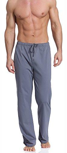 Cornette Herren Schlafanzugshose CR-691 (Grau, XL) (Herren Hose Pyjama)