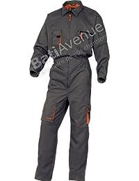 Delta-plus - Combinaison de travail mach 2-coloris gris et orange - Taille cbe321ad1b3