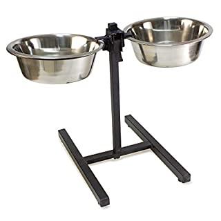 Arquivet 8435117804807-Stand High Stainless 2Feeders 4,7l