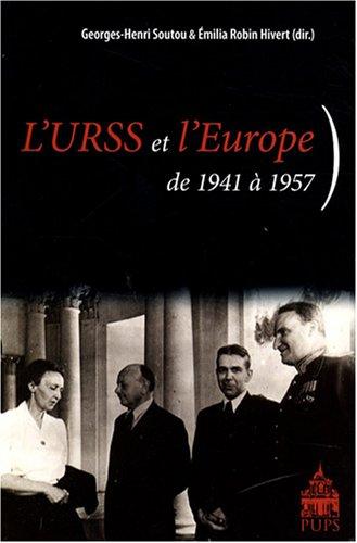 L'URSS et l'Europe : De 1941  1957