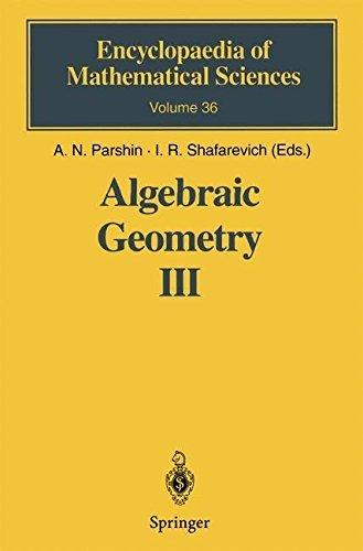Algebraic Geometry III: Complex Algebraic Varieties Algebraic Curves and Their Jacobians (Encyclopaedia of Mathematical Sciences Book 36) (English Edition)