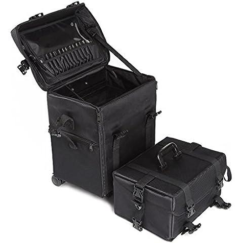 casa Monopoli Professionale Caso Cosmetici cassetti panno modello ricamo Strumenti multistrato con ad alta capacità (Tela Cassetti)