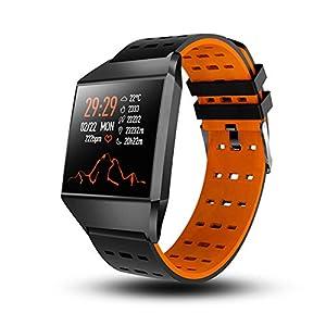 HQHOME Smartwatch,Fitness Armband Uhr Voller Touch Screen IP67 Wasserdicht Fitness Tracker Sportuhr mit Schrittzähler Pulsuhren Stoppuhr für Damen Herren Smart Watch für iOS Android Handy