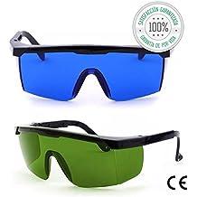 Tillmann's® Gafas Depilacion Laser – Gafas Protectoras Depilacion IPL / HPL / Luz Pulsada