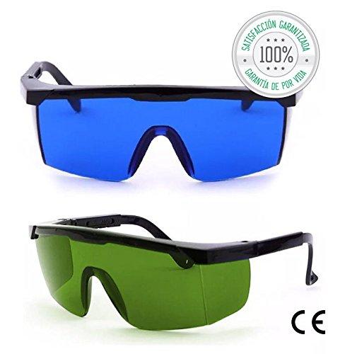Tillmann's Gafas Depilacion Laser 2 Unidades – Gafas...