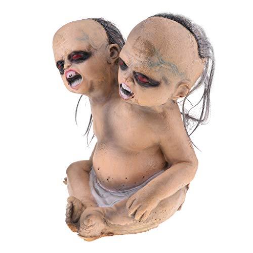 MagiDeal Halloween Requisiten Mini schreckliche Zombie Babypuppe Junge Puppe Spielzeug - # 6