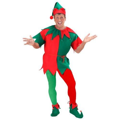 Widmann-WDM01263 Costume Adulto Donna, Rosso/Verde, XL, WDM01263
