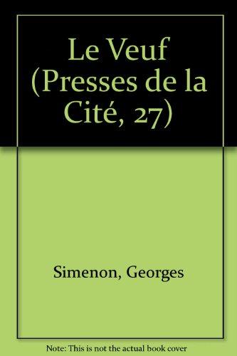 Le Veuf (Presses de la Cité, 27)
