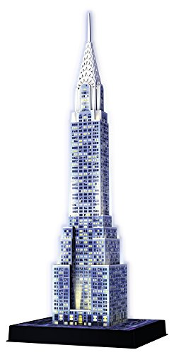Ravensburger 12595 - Chrysler Building, bunt