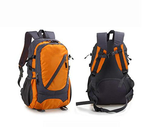 Outdoor Schulter Rucksack Wasserdicht Bergsteigen Tasche Camping Tasche Orange