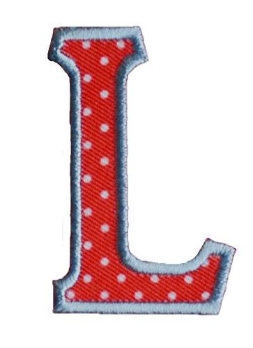 l-maiuscolo-5cm-rojo-blanco-letras-hierro-hermoso-hacer-gitano-para-repararbandernmochilatecho-pauel