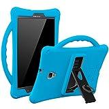 Armera Galaxy Tab A 8.0 (2017) - Silikon Hülle/Case/Cover für Kinder für Samsung Galaxy Tablet A 8 SM-T380/T385, robust, stoßfest, perfekter Schutz (blau)