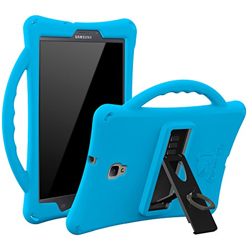 Armera Galaxy Tab A 8.0 (2017) - Silikon Hülle/Case / Cover für Kinder für Samsung Galaxy Tablet A 8 SM-T380 / T385, robust, stoßfest, Perfekter Schutz (blau)