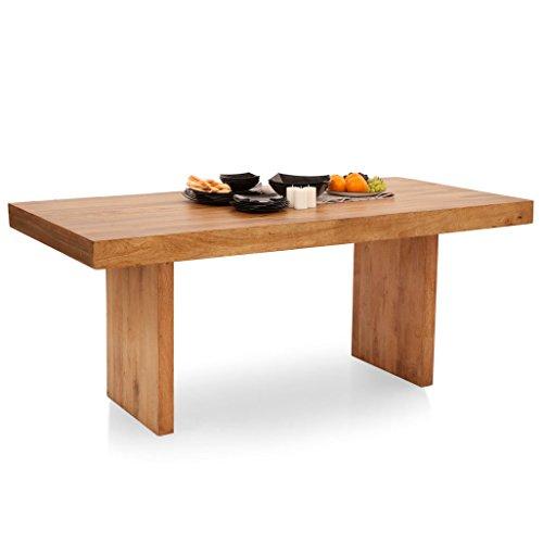 The Armchair Jordan Six Seater Dining Table (Natural)