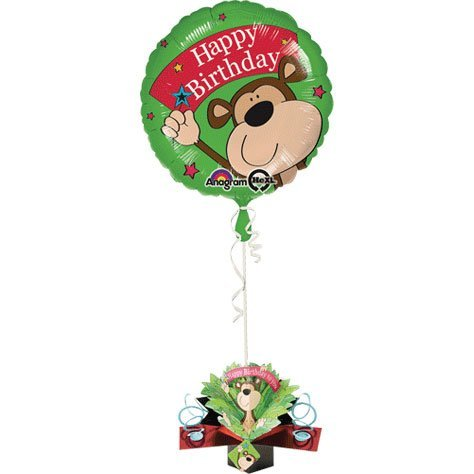 Amscan Geburtstag Pop Up Gewicht Monkey Folienballon