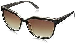 Polaroid Polarized Wayfarer Womens Sunglasses - (PLD 4029/S 6AR 58LA|58|Brown Color)