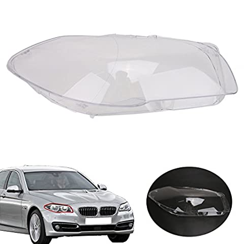 WANOOS Driver Side Headlight Lens Headlamp Shell Cover Replacement for BMW F10 F11 528i 530i 535i 535d 550i M5 2009-2013