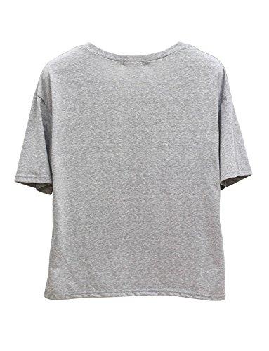 Ma Coquette -  T-shirt - Donna Grigio